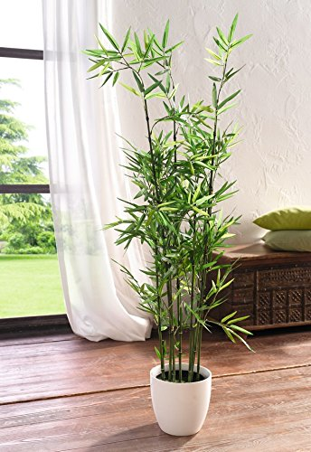 375-ft-45-in-Faux-Bamboo-Plant-Lush-Artificial-Bamboo-in-Plastic-Pot-Product-SKU-HD222570