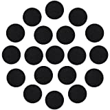 Arts & Crafts : Outus Adhesive Black Felt Circles for DIY and Sewing Handcraft, 1 Inch, 100 Pieces