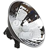"Flashpoint Cool Light 4, 16"" Reflector with Four 55W Fluorescent Bulbs"