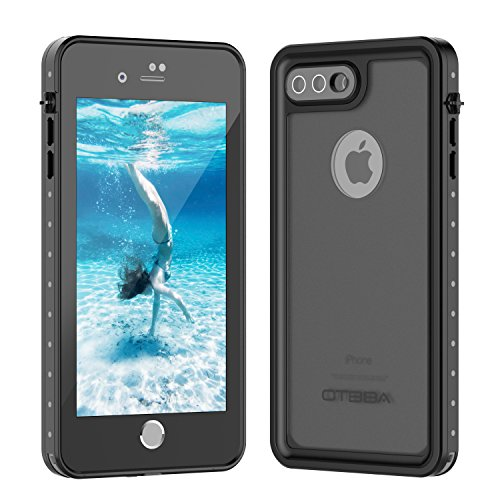 Cheap Waterproof Cases iPhone 7 Plus/8 Plus Waterproof Case, OTBBA Underwater Cover Full Body Protective..