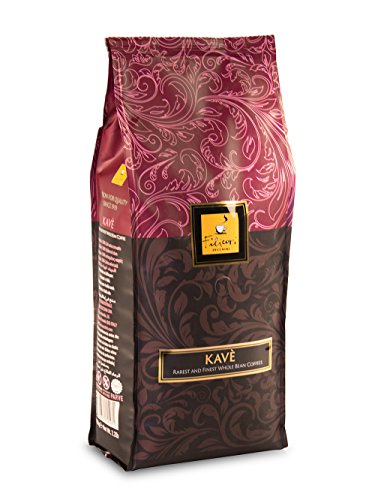 Whole Bean Coffee - Filicori Zecchini - Kavè - Espresso - Italian Roast (Medium Dark) - Gourmet Blend of Brazil, Guatemala, India Coffee Beans - Made in Italy - 2.2Lb (1kg) Bag