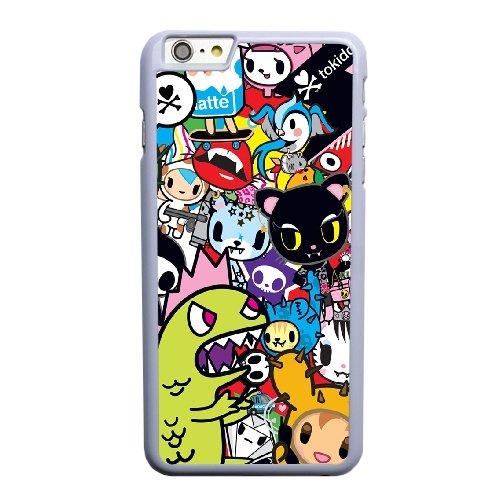 Coque,Coque iphone 6 6S 4.7 pouce Case Coque, Tokidoki Unicorno Cover For Coque iphone 6 6S 4.7 pouce Cell Phone Case Cover blanc