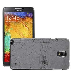 Etui Housse Coque de Protection Cover Rigide pour // M00152205 Piedra Gris Fondo de la pared de // Samsung Galaxy Note 3 III N9000 N9002 N9005