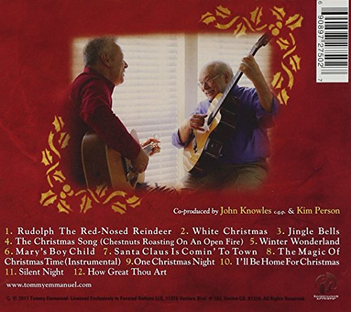 Tommy Emmanuel All I Want For Christmas Amazon Music
