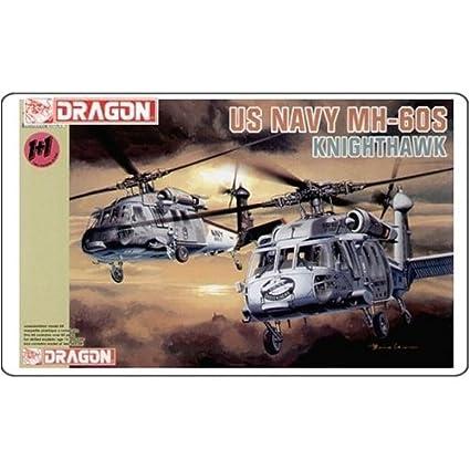 Amazon.com: Dragón modelos 4605 1/144 US Navy MH-60S hsc-2 ...