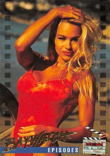 Pamela Anderson trading card Baywatch 1995 #71 C.J. Parker photoshoot