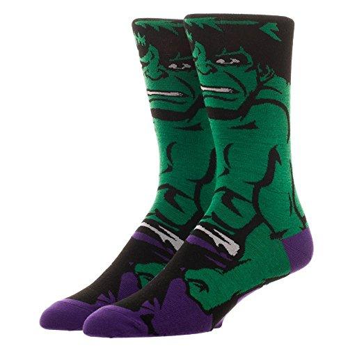 Incredible Hulk 360 Crew Socks - Marvel Comics - ()