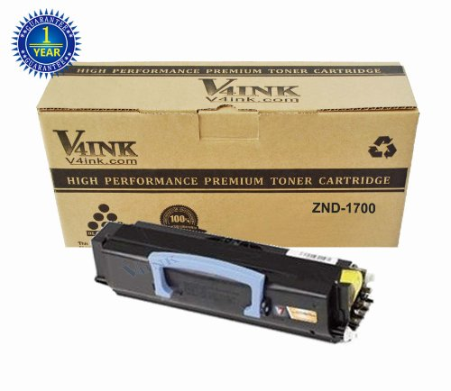 V4INK ® New Compatible Dell 1 Pack DELL 1700 Toner cartridge for DELL 1700/1710 SERIES, Office Central