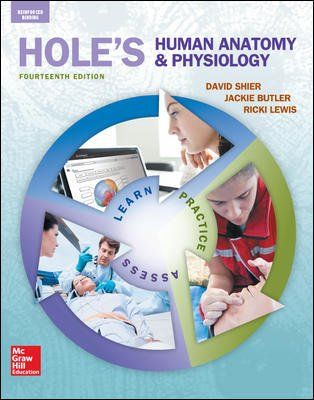 Shier, Hole's Human Anatomy and Physiology © 2016, 14e, Student Edition, Reinforced Binding (AP HOLE'S ESSENTIALS OF HUMAN ANATOMY & PHYSIOLOGY) -  Lewis, Ricki, 14th Edition, Hardcover