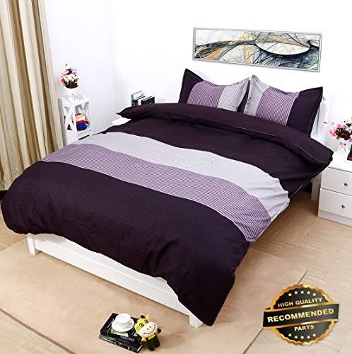 Sandover Bedroom Microfiber Duvet Cover Sets, Printing Duvet Cover Set 3pcs Bed Sets| Size Double Size | Style DUV-5301218201 ()