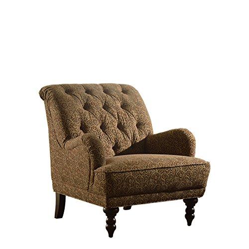Amazon.com: Aianna único Textured cómoda silla tela sofá ...