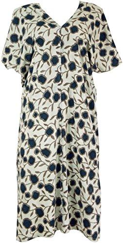 Shop Weiß Ponchokleid Weiß Alternative Synthetisch amp; Kaftan 42 Kleider Maxikleid Lange Damen Bekleidung Marine Size Guru Midi SwdqgCw