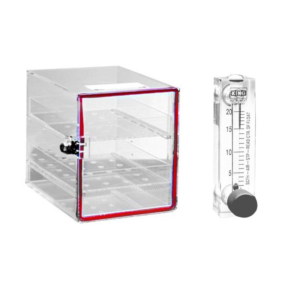 Dynalon 143134-0000 Small Nitrogen Purge Desiccator Cabinet, 10 ...