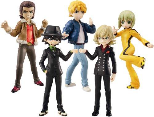 Volume #1 Set of 8 Bandai Tamashii Nations Tiger and Bunny Half Age Toy Figures