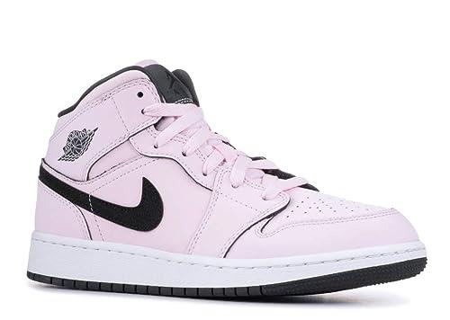 buy popular 63d3c de4d0 Nike Women's Air Jordan 1 Mid (Gs) Fitness Shoes: Amazon.co ...