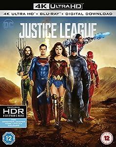 Justice League – [4k Ultra HD + Blu-ray + Digital Download] [2017]