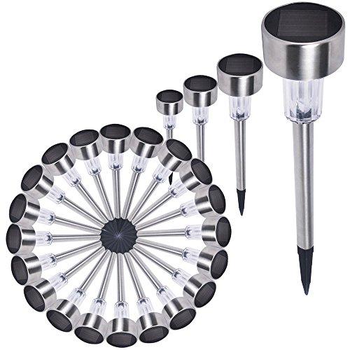 thanya-24-pack-outdoor-stainless-steel-led-solar-power-lightwhite-multi-color