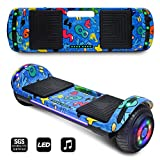 CHO POWER SPORTS 2019 Electric Hoverboard UL Certified Hover Board Electric Scooter with Built in Speaker Smart Self Balancing Wheels (Rose Gold)