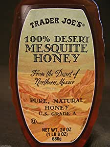 Trader Joes 100%Desert Mesquite Honey 24 Oz.