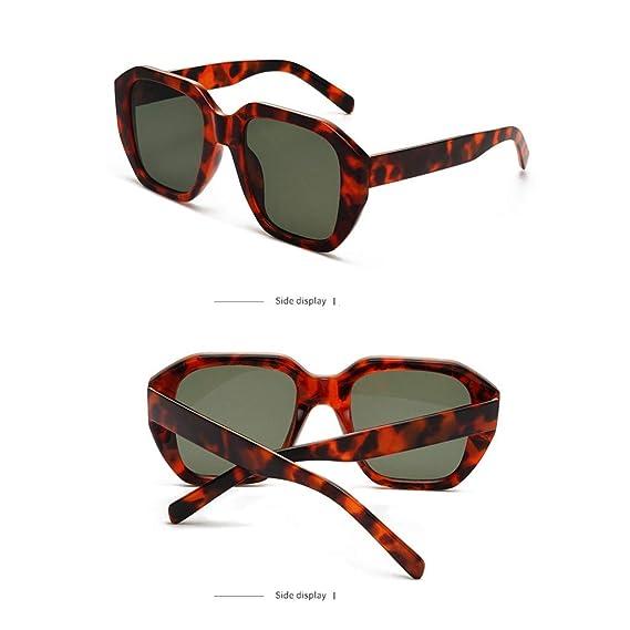 Mymyguoe Dama Gafas de Sol Mujeres Gafas de Sol Grandes Vintage Gafas de Sol  Retro Gafas ea6b74e2a2c0