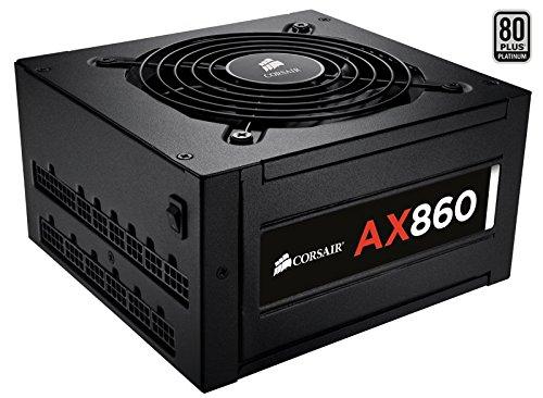 200 opinioni per Corsair AX860 CP-9020044-EU Alimentatore ATX/EPS Serie AX da 860 Watt,