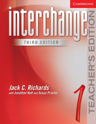 Interchange Teacher's Edition 1 (Interchange Third Edition)