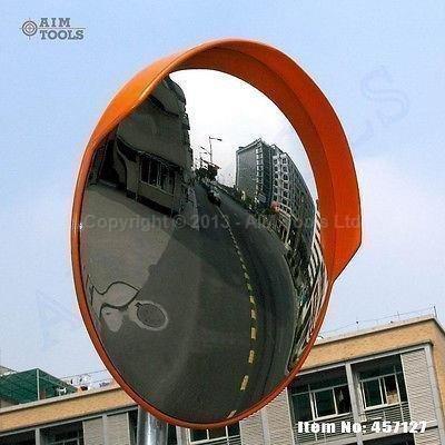 Specchio di sicurezza per traffico convesso grandangolare 180° 80cm 457127
