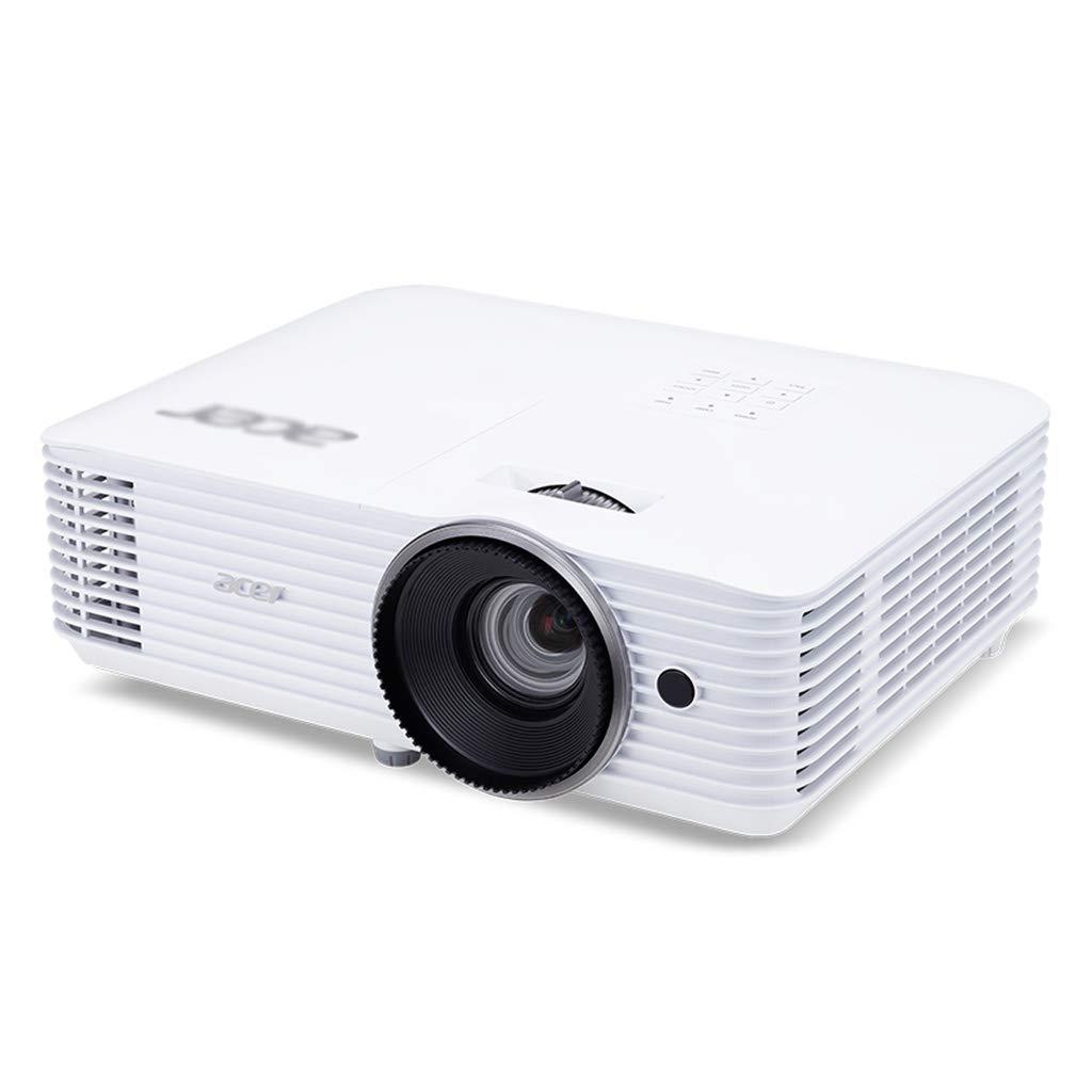 プロジェクターホームポータブルHD 1080Pプロジェクター3Dホームシアタースクリーンレスプロジェクションホームオフィスプロジェクター (Color : 白, Size : 31.5x21.4x9.8cm) 31.5x21.4x9.8cm 白 B07MKT1C53