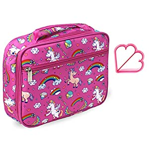 Keeli Kids Lunch Box with Matching Sandwich Cutter