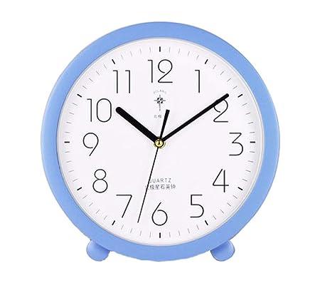 Reloj De Pared, 10 Pulgadas, Dormitorio Colorido, Reloj De Mesa ...