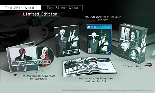 The 25th Ward: The Silver Case - PlayStation 4 Limited Edition