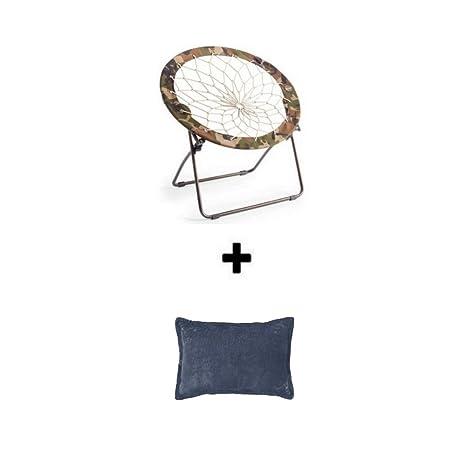 Amazon.com: Ligero y portátil, silla elástica plegable Bunjo ...