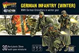 Bolt Action Warlord Games, miniatures - Germans Infantry (Winter)