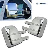 Tyger Auto TYGER ABS Triple Chrome Plated A Pair Mirror Covers Fits 07-13 Chevy Silverado 2500/3500 HD/GMC Sierra 2500/3500/HD Tow Mirror