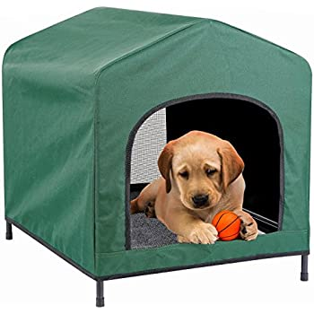 Kleeger Premium Canopy Pet House Retreat Waterproof Indoor Outdoor Shelter