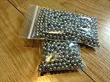 Airsoft bbs 6mm Airsoft Metal BBs Seamless .30g 1200rds Metal BBs, Sniper Rifle Refill Bag 6mm Airsoft bbs .30