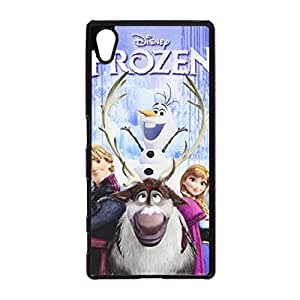 Cartoon Frozen Printed Phone Case for Sony Xperia Z5 Comic Frozen Delicated Design Cell Case Fit Sony Xperia Z5