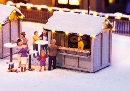 Noch 65610 Combined Set at The Christmas Market Landscape Modelling