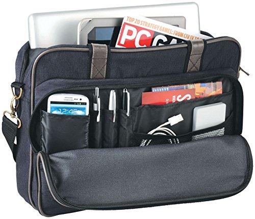 Laptop Tasche Aktentasche Büro Umhängetasche 600D Polyester von noTrash2003