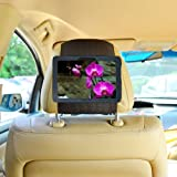 TFY New Kindle Fire HD 7 inch (2013 Old Model) Car Headrest Mount Holder (will only fit Amazon Kindle Fire HD 7, Previous Generation - 3rd)