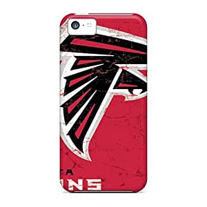 Shock-Absorbing Hard Phone Cover For Iphone 5c (ssQ8089SMSU) Customized High-definition Atlanta Falcons Series
