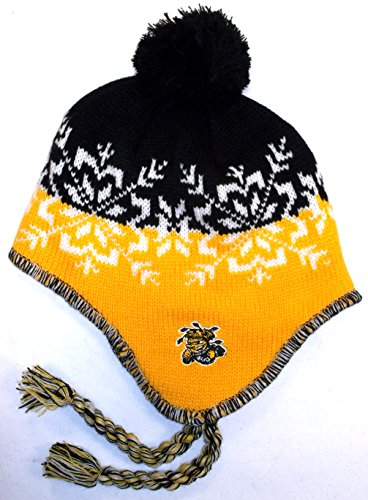 Wichita State Shockers NCAA Tassled Beanie with Pom Hat Cap Lid Toque by Adidas
