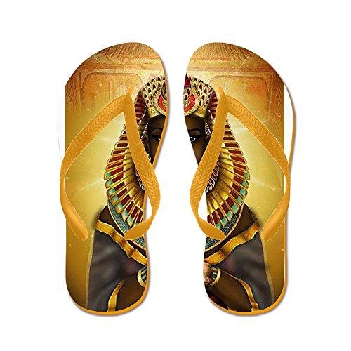 Cafepress Egyptiska Gudinnan Isis - Flip Flops, Roliga Rem Sandaler, Strand Sandaler Apelsin