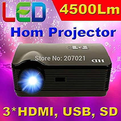 ATCO Full HD 4500lumens Home Cinema 3D Proyector 1280 * 800 Vídeo ...