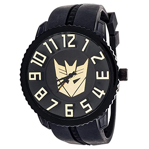 Xtreme Time Transformers Collector Edition Watch Decepticon Black with Gold