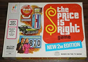 The Price is Right Game 2nd Edition 1974
