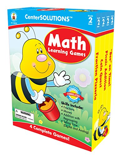 Carson-Dellosa Publishing Math Learning Games