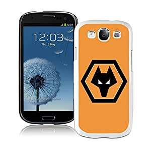 wolverhampton wanderers White Samsung Galaxy S3 Phone Case Charming and Melting Design