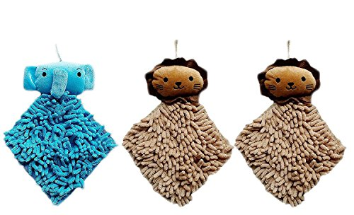 3pc-kictchen-chenille-fiber-hand-towel-clean-absorbent-cloth-dry-your-hands-quickly-elephantlion