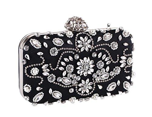 Beaded Shoulder B Dinner New Bag Bag Hand Bag Ms dFZtwZqA